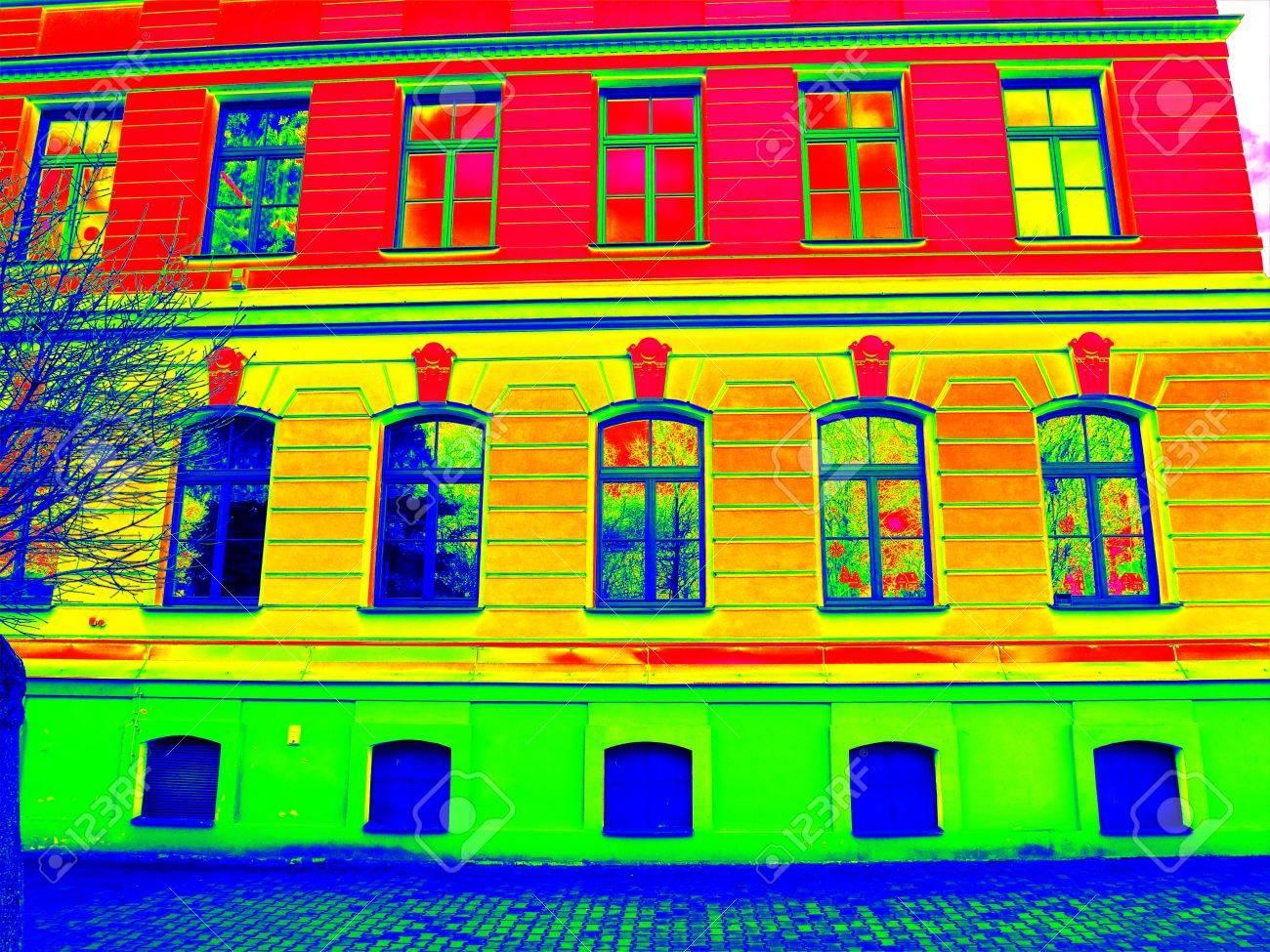 Energetische Gebäudeinspektion